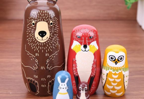 Wooden Nesting Dolls That Will Tickle Your Imagination